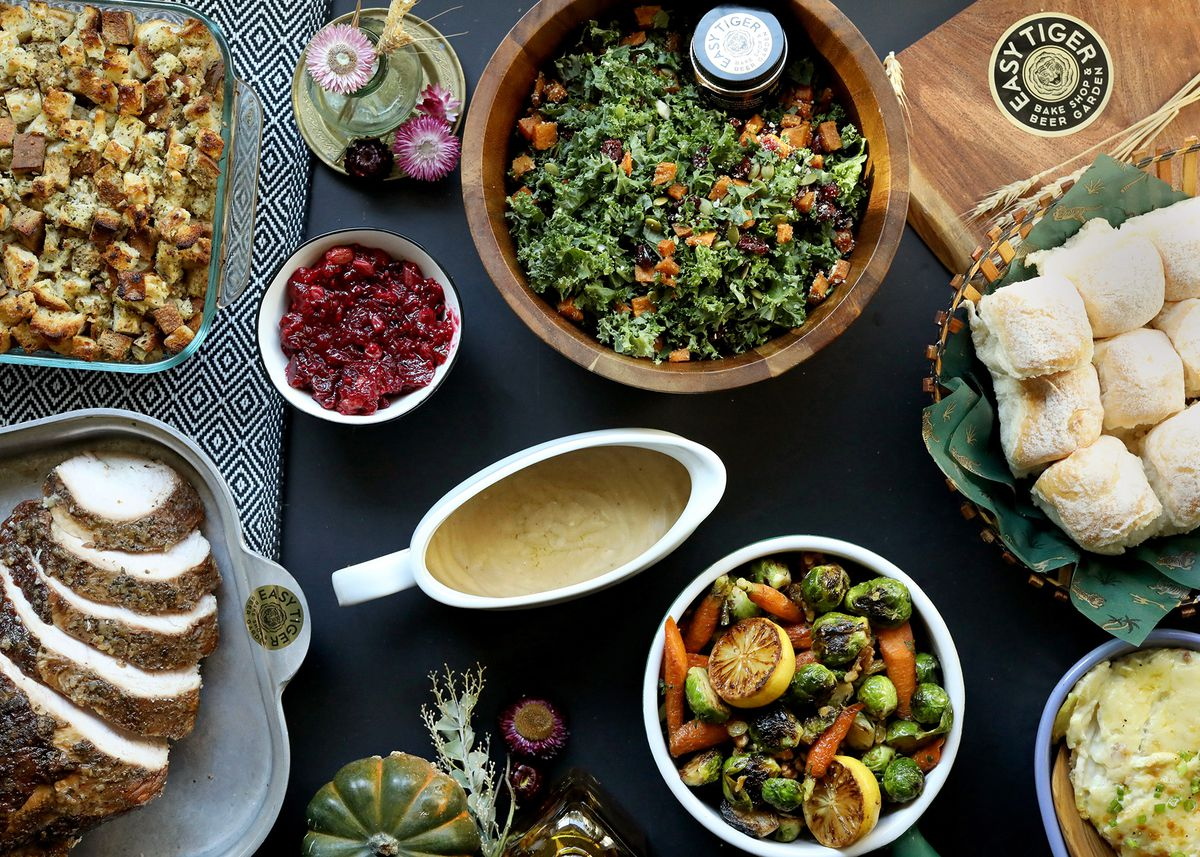 The Thanksgiving array from Easy Tiger