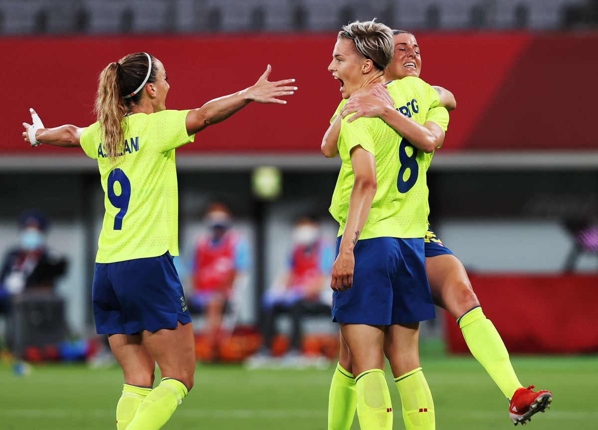 Sweden v United States: Women's Football - Olympics: Day -2