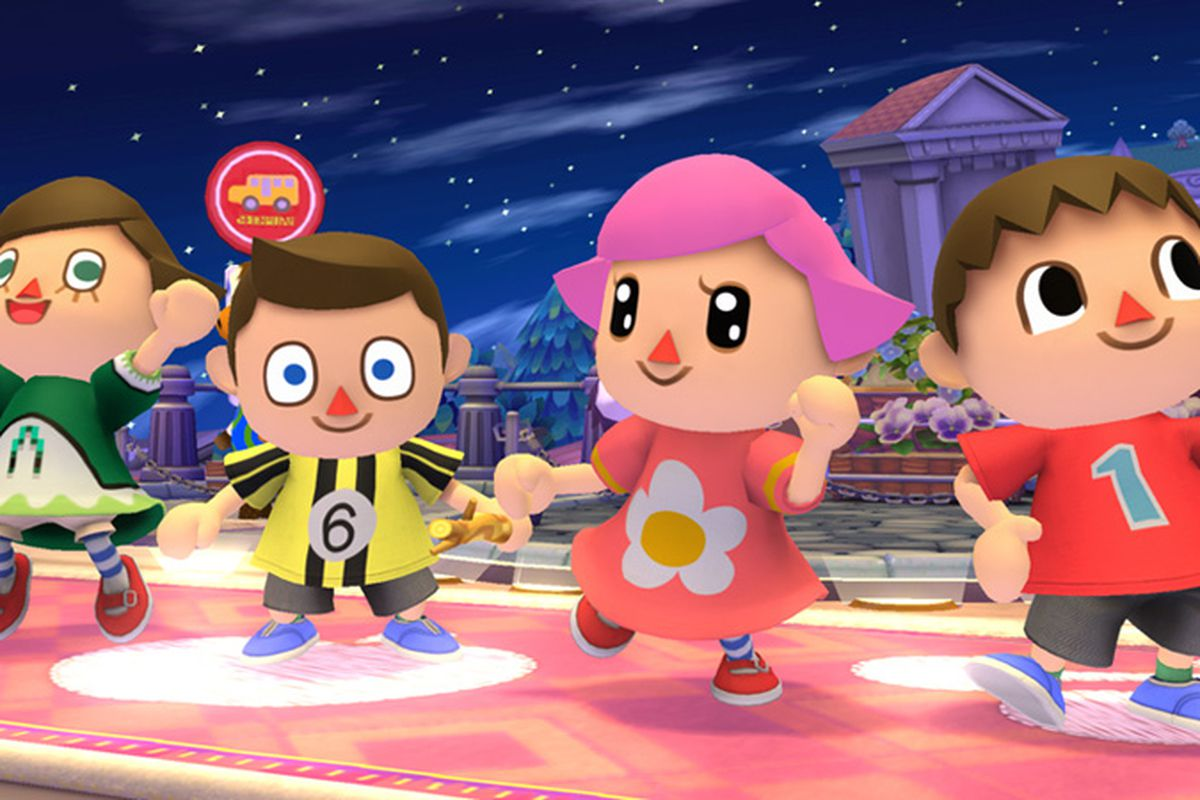 Animal Crossing's female villager is playable in Super ...
