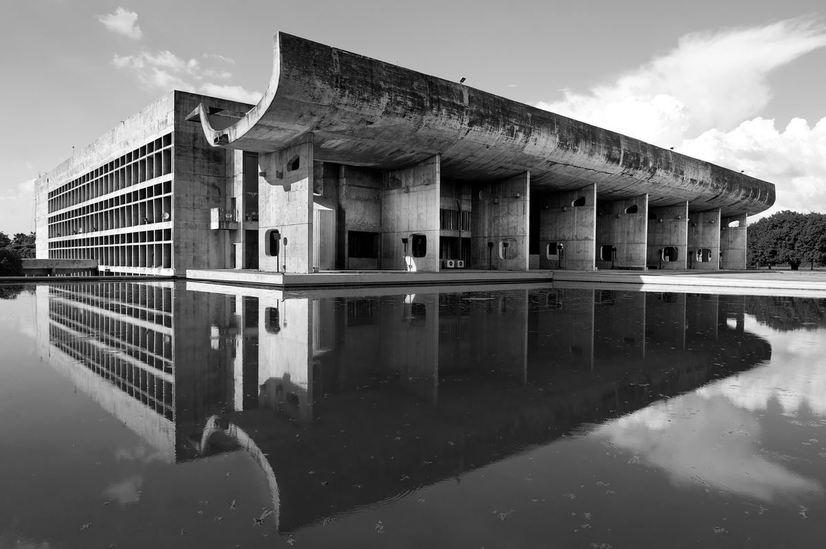 Le Corbusier\'s utopian city Chandigarh, and its faded glory ...