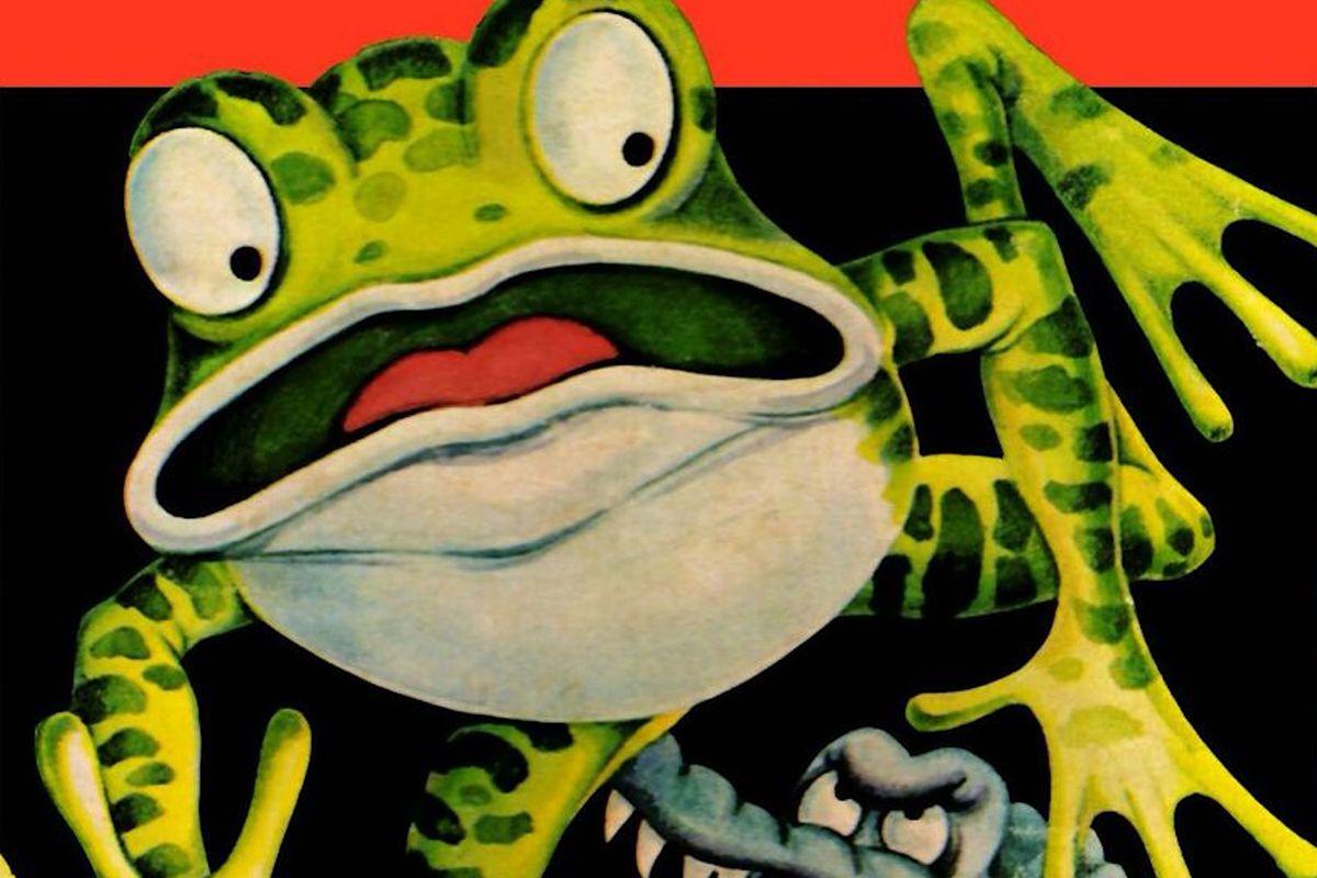 Artwork of Frogger for the Atari 2600