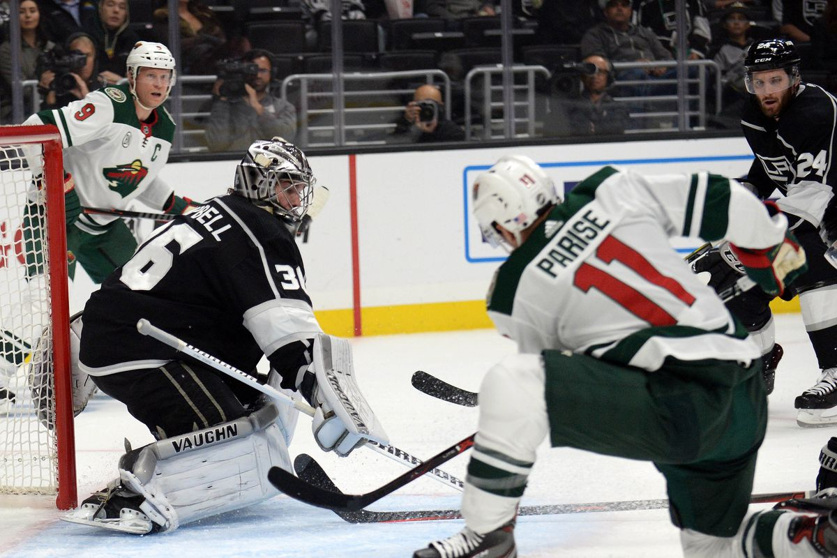 NHL: Minnesota Wild at Los Angeles Kings