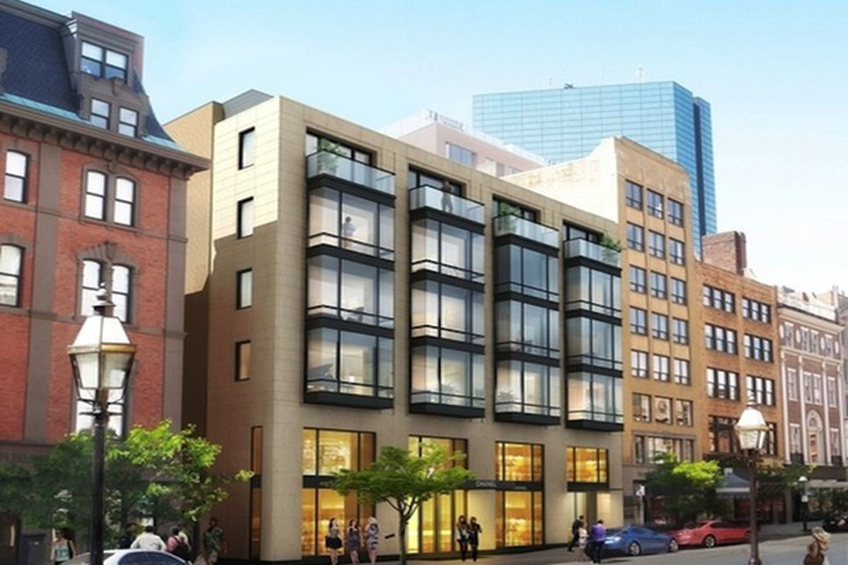 """Rendering via <a href=""""http://boston.curbed.com/archives/2013/09/chanel-no-6-coming-into-its-shells-nicely.php"""">Curbed Boston</a>"""