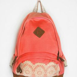 """<b>Kimchi</b> Lace & Jersey Backpack, <a href=""""http://www.urbanoutfitters.com/urban/catalog/productdetail.jsp?id=23928294&parentid=WOMENS_ACCESSORIES"""">$49</a> at Urban Outfitters"""
