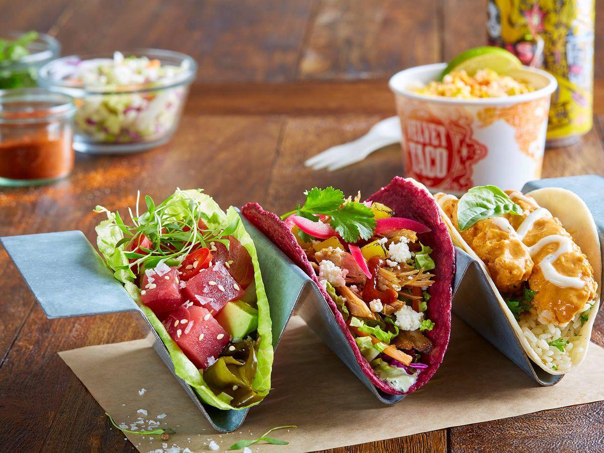 Velvet Taco's tacos