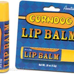 """<a href=""""http://www.perpetualkid.com/corndog-lip-balm.aspx"""">Corn Dog</a>: $3.49"""