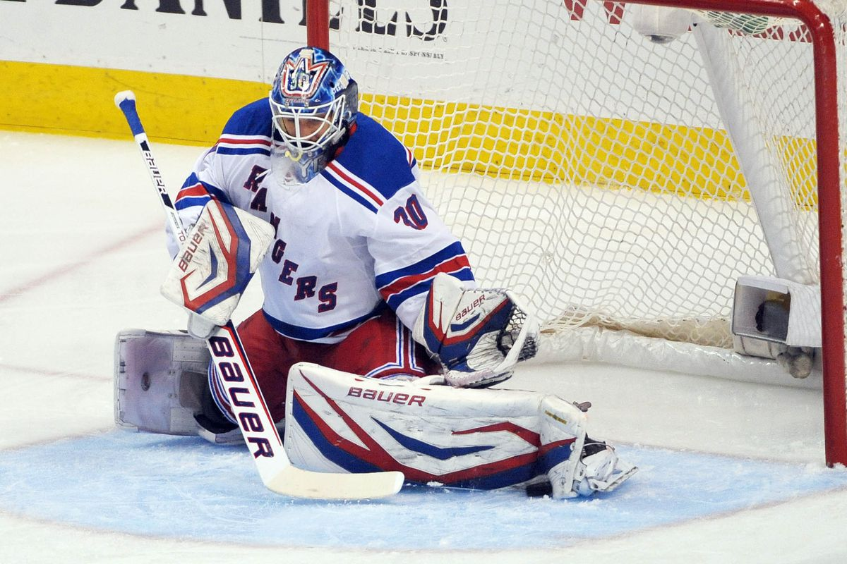 Henrik Lundqvist Injured Will Miss Game Vs Flyers Broad Street