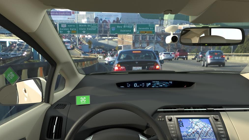 The Nauto dashboard camera