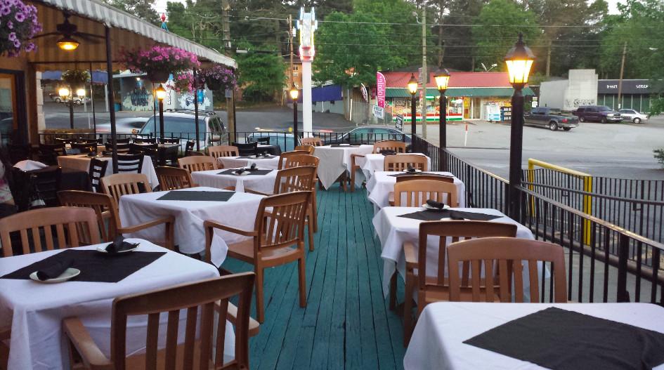 Taverna Plaka on Cheshire Bridge Road in Atlanta