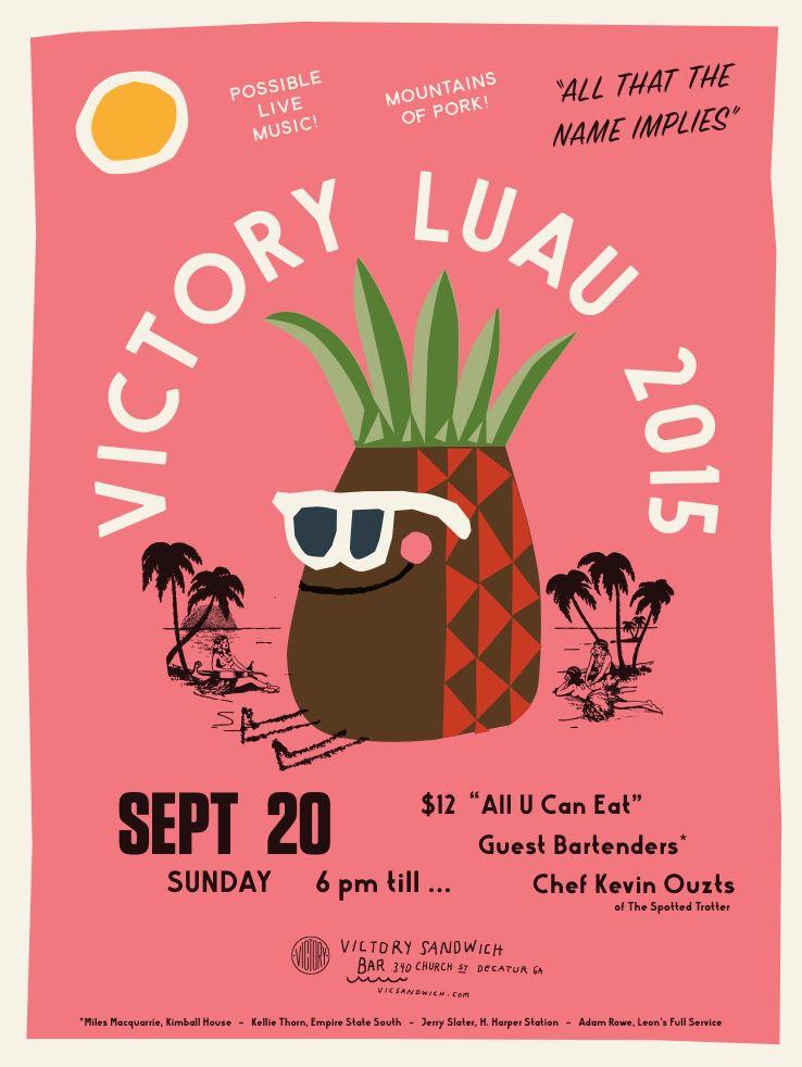Victory Luau 2015