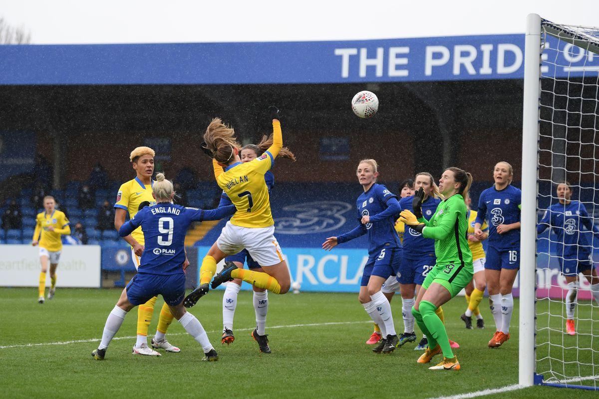 Chelsea Women v Brighton & Hove Albion Women - Barclays FA Women's Super League
