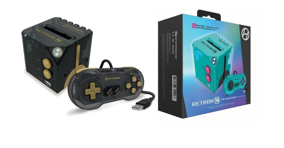 RetroN Sq is a cube-shaped console for playing Game Boy titles on your TV - Circuit Breaker