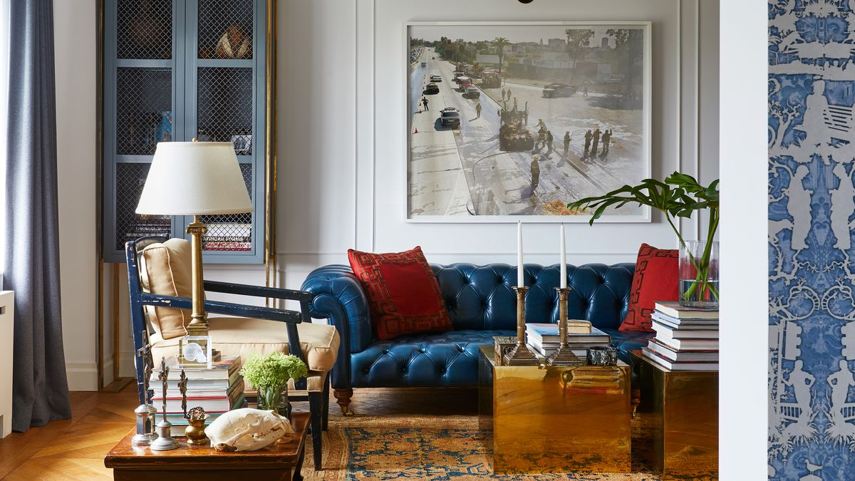 Inside Interior Designer Tim Campbell S Debonair New York