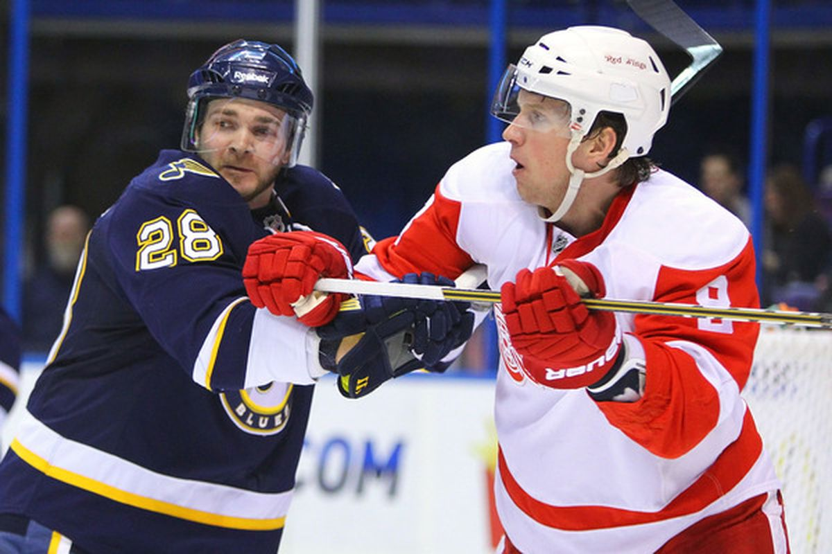 Both these guys are almost Red Wings  (Photo by Dilip Vishwanat/Getty Images).