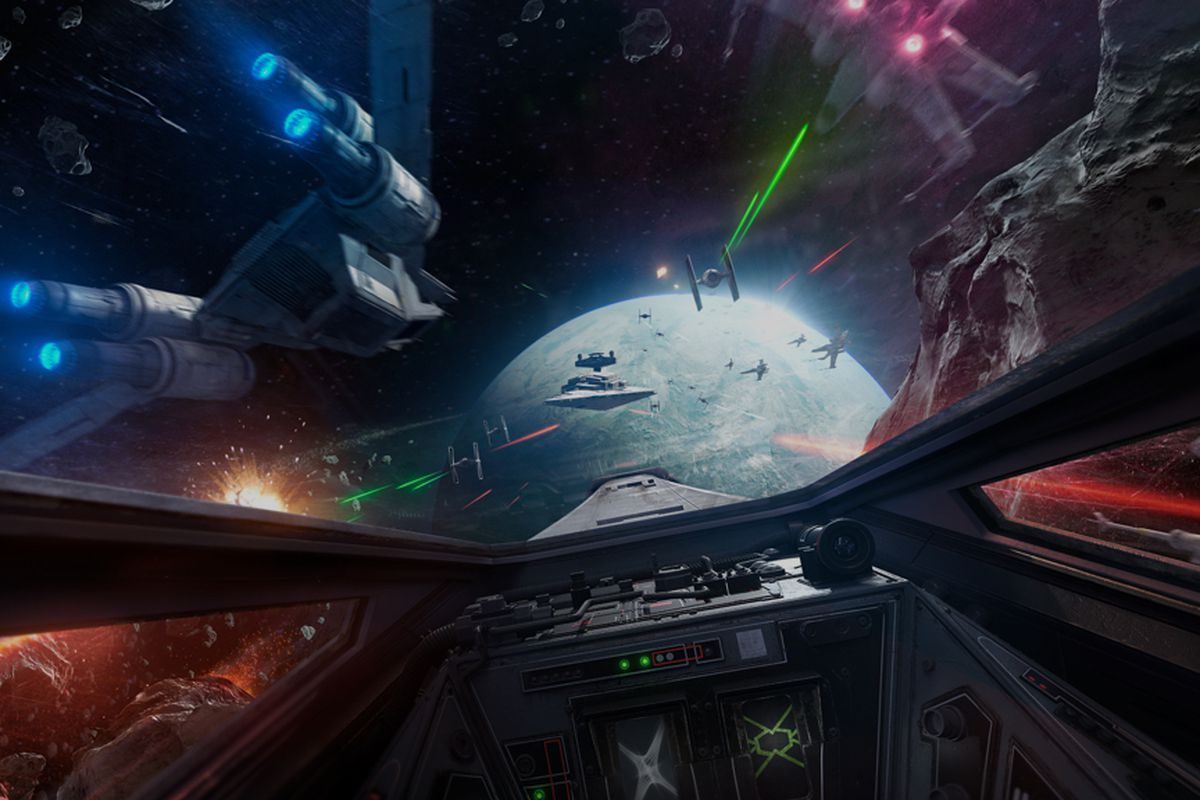 Reminder: you can play Battlefront's cool X-Wing VR mission
