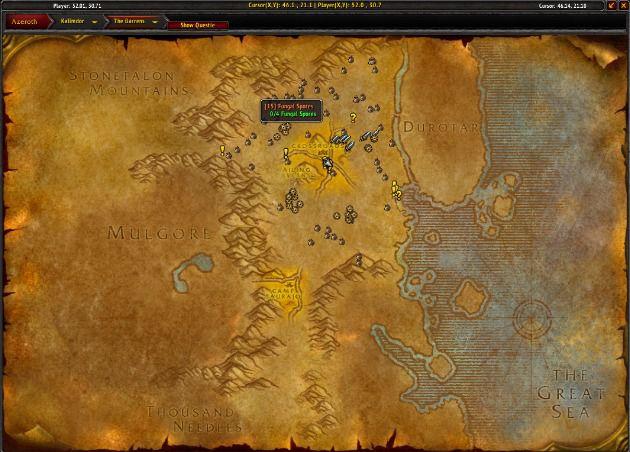 World of Warcraft Classic Questie add-on