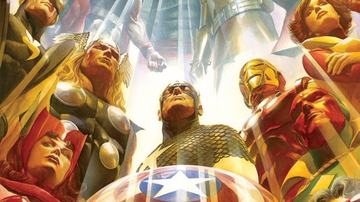Alex Ross art of the Avengers