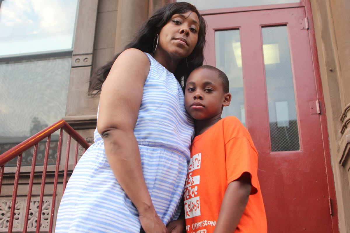 Stacey Saunders said Thomas' school has sometimes struggled to manage his emotional disorder. But it has also started to successfully integrate him into classes with general-education students.