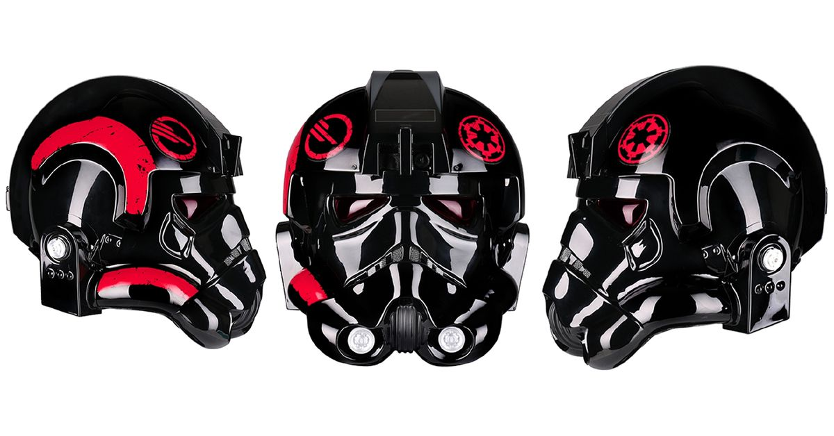Battlefront 2 has an official, wearable Inferno Squad helmet