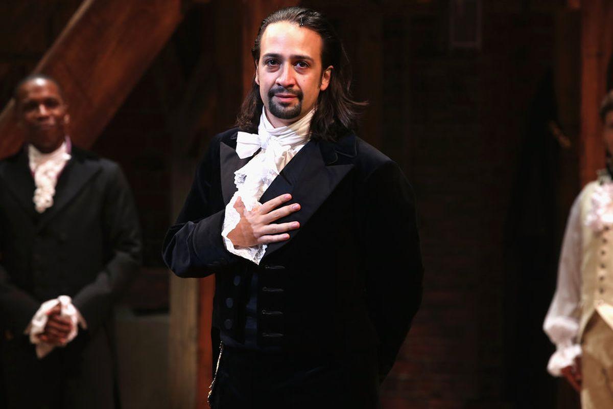A hip-hop musical about Alexander Hamilton is Broadway's