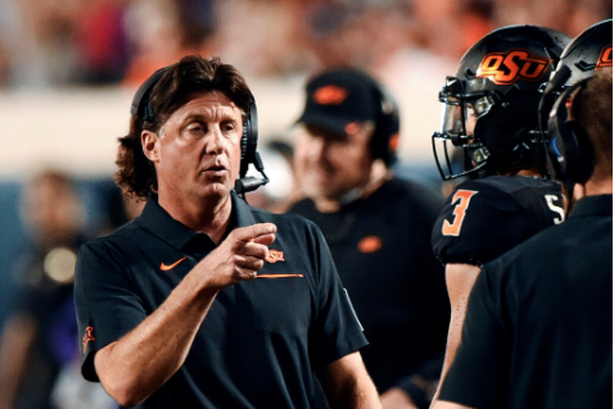 Oklahoma State football coach Mike Gundy apparently doesn't understand the danger the coronavirus poses.