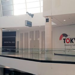 The third floor's getting Tokyo Japanese Lifestyle, Dioro Salon & Spa, Brooks Shoes for Kids and more.