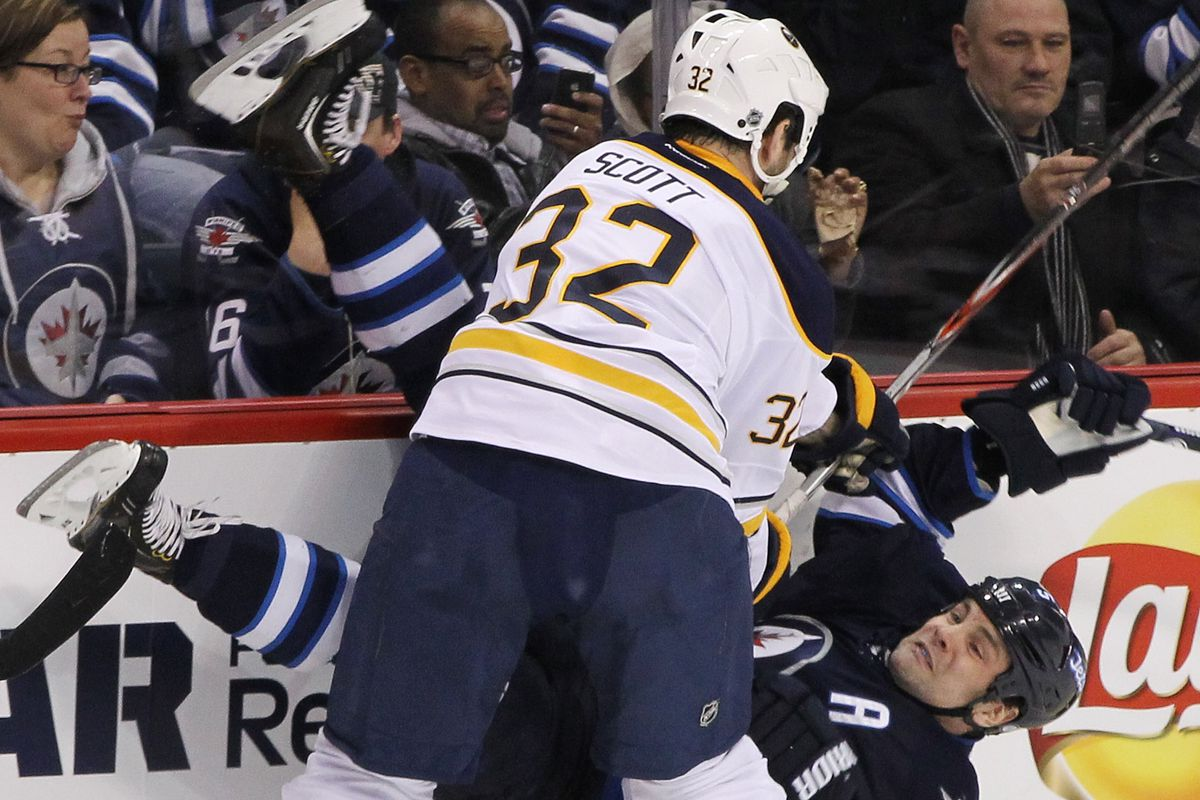 Your every-once-in-awhile non-subtle reminder that John Scott is not a good hockey player.