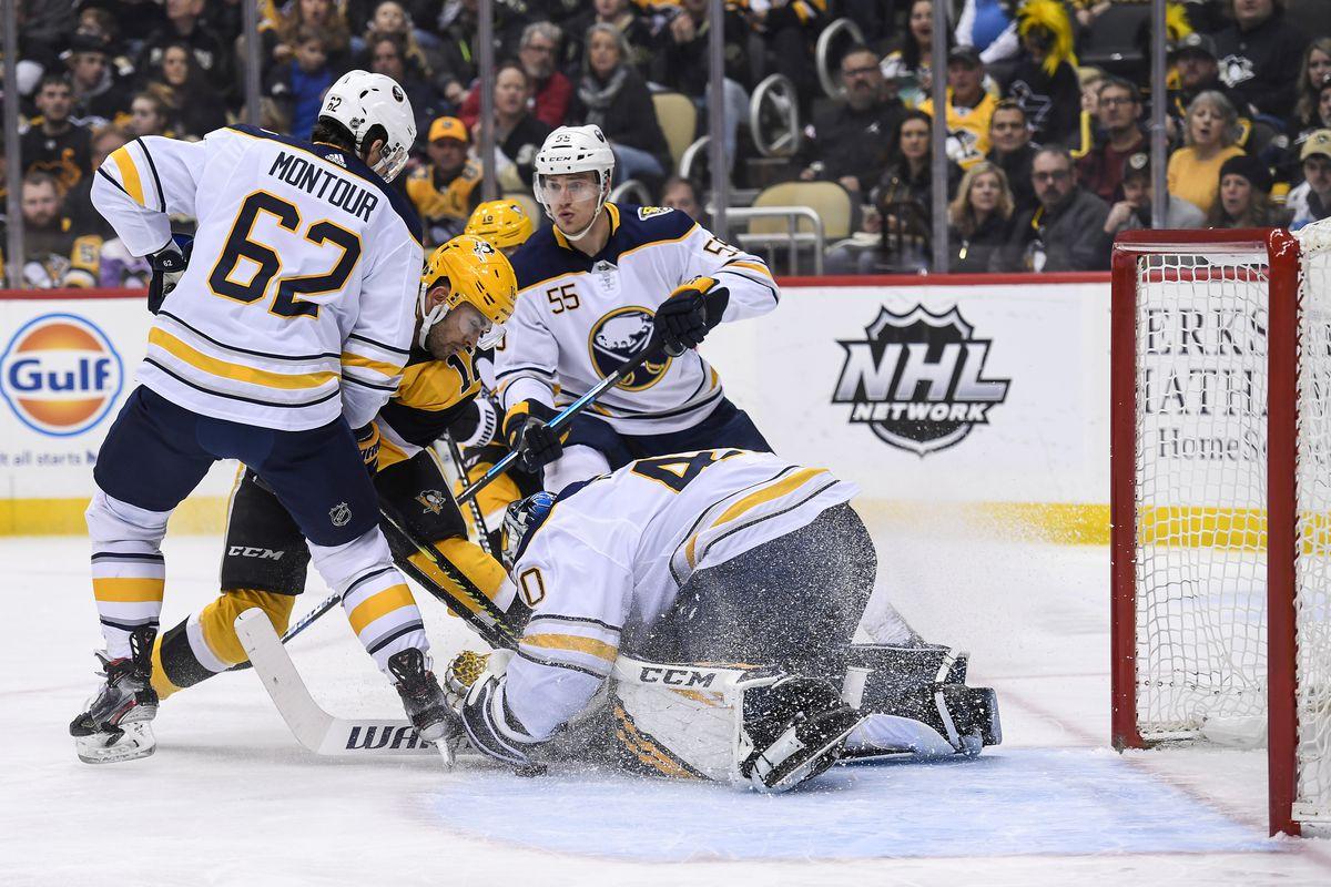 NHL: FEB 22 Sabres at Penguins
