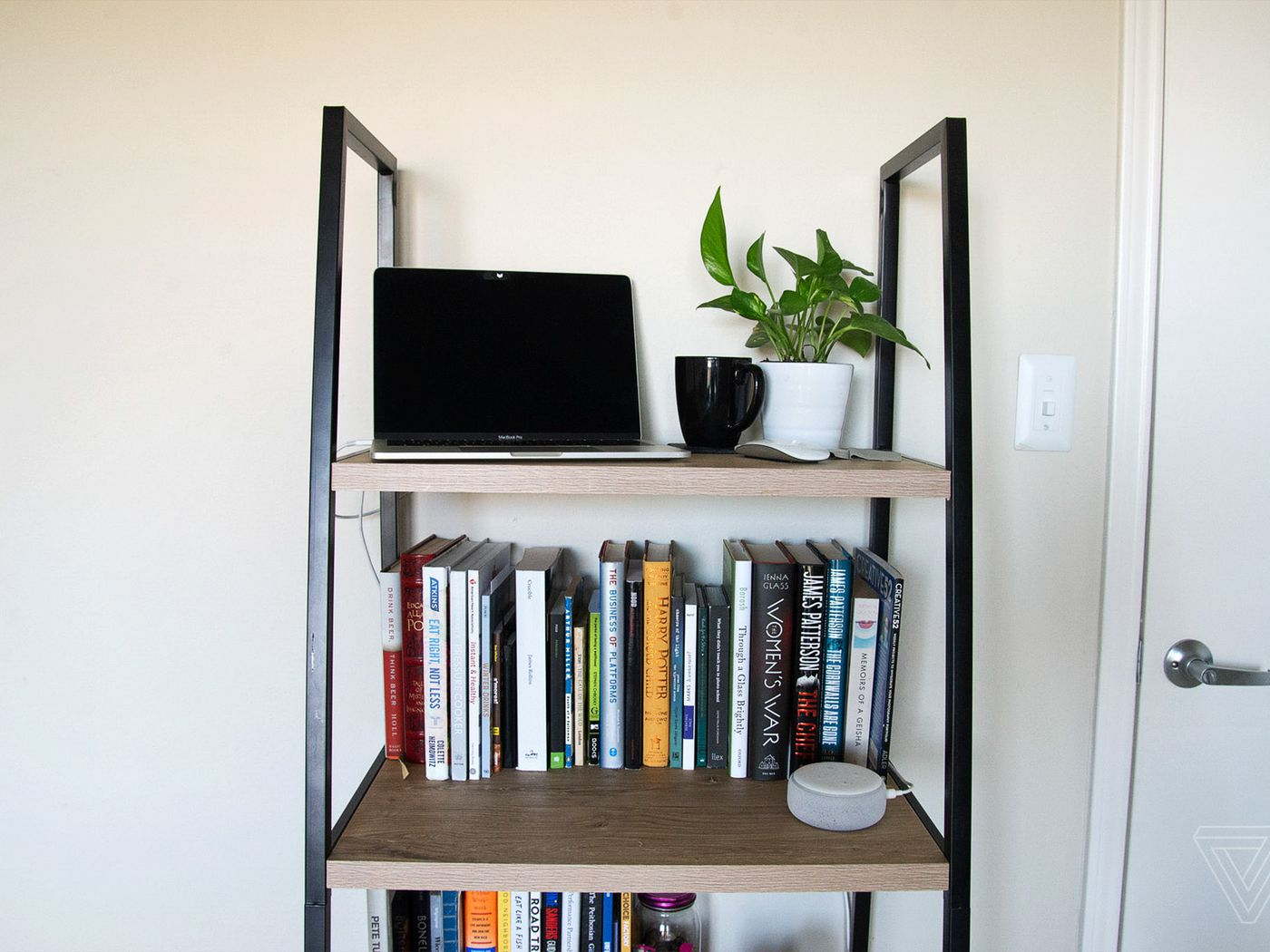 How To Convert A Bookcase Into A Standing Desk The Verge