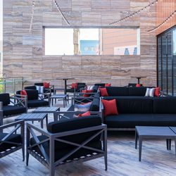 Sake Rok's terrace