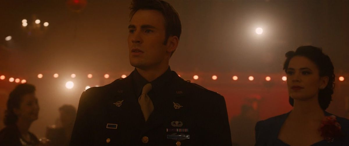 Captain America and Peggy Carter's Dance Vision