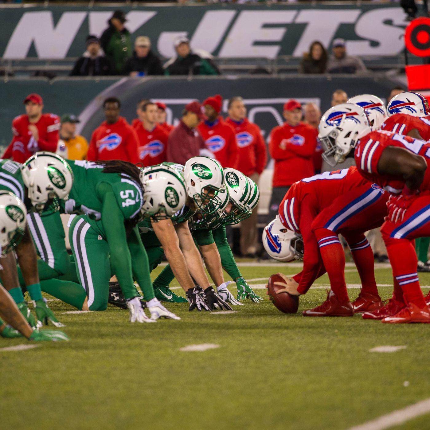 New York Jets vs. Buffalo Bills - Thursday Night Football - Dawgs ...
