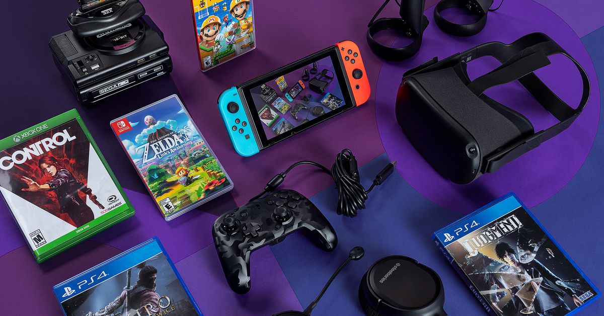 The Verge Video Game Gift Guide 2019