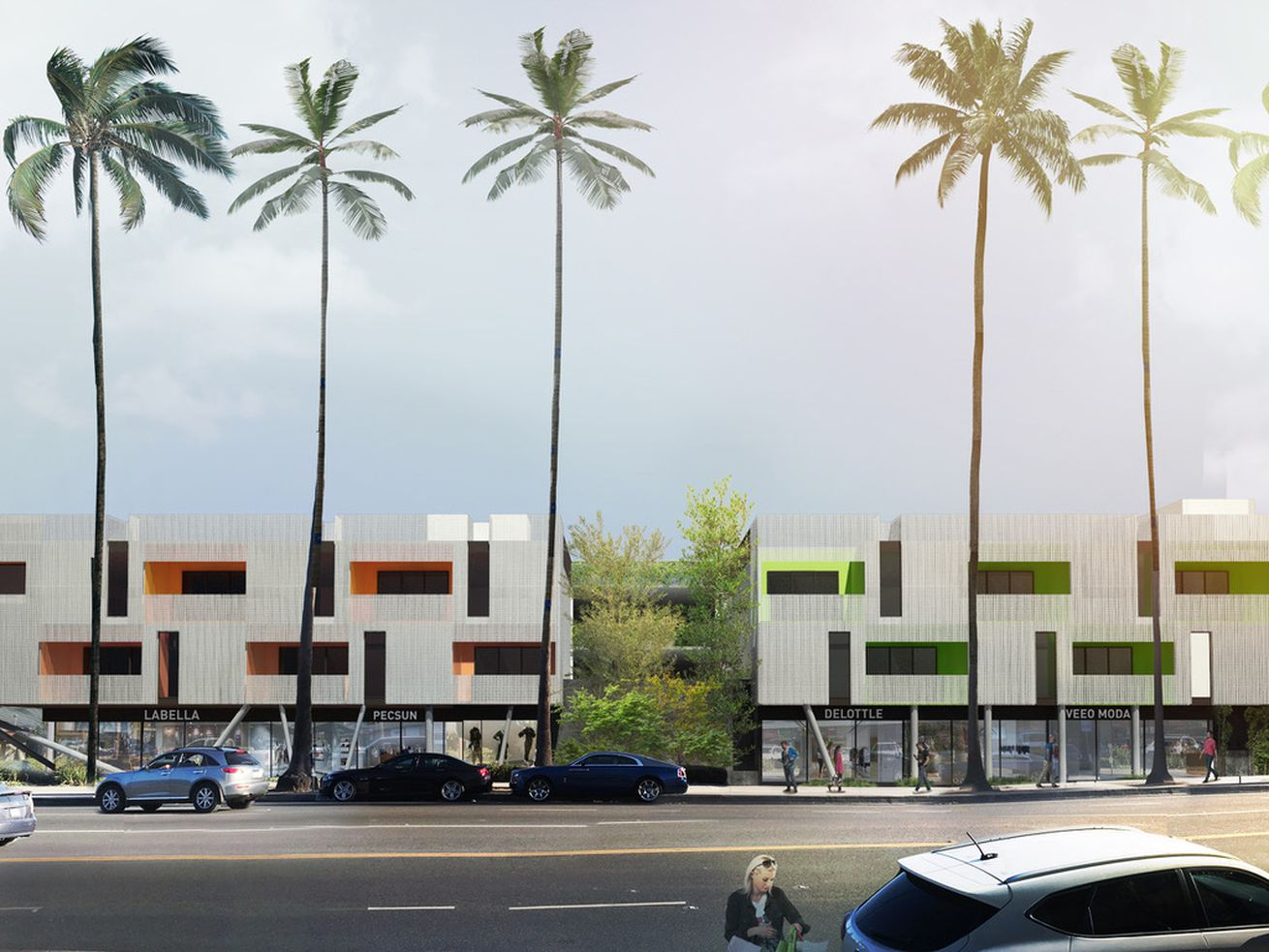 The Santa Monica and Yale project, which is slated to break ground within the next month and a half.