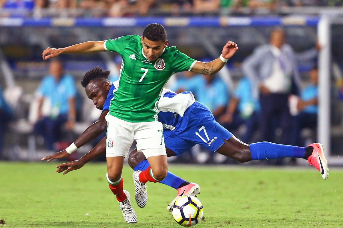Soccer: 2017 CONCACAF Gold Cup-Mexico at Honduras
