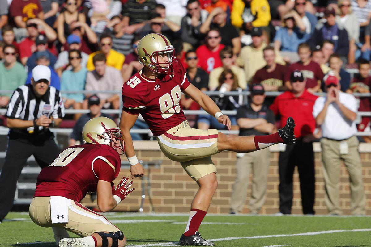 NCAA Football: Northern Illinois at Boston College