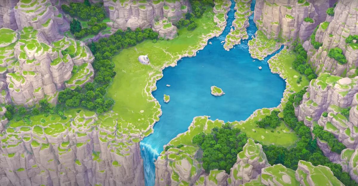 Piccolo's house from Dragon Ball Super: Superhero