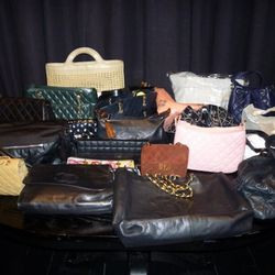 The coveted Chanel table