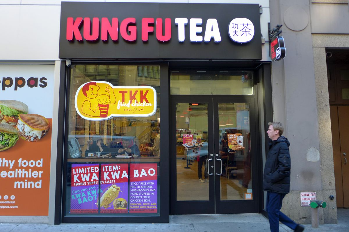 Two in one: TKK and Kung Fu