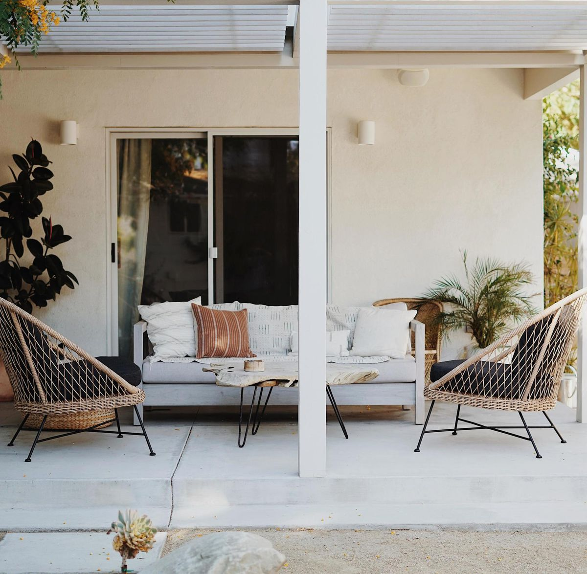 Summer 2021 Outdoor Rooms, Almost Makes Perfect, the back porch and pergola