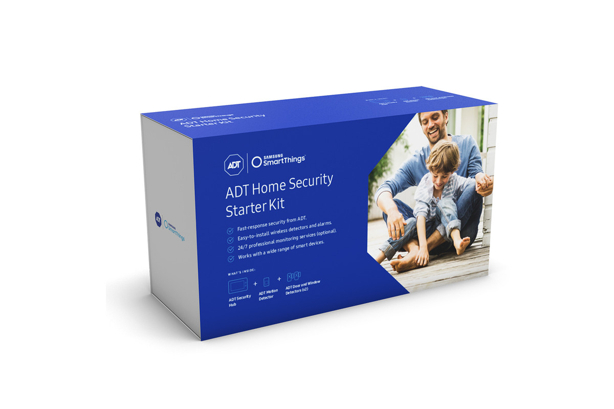 Samsung teams up with adt for new smartthings powered home security samsung announced a new smartthings powered home security system today but with an interesting twist the company has partnered with adt a professional solutioingenieria Choice Image