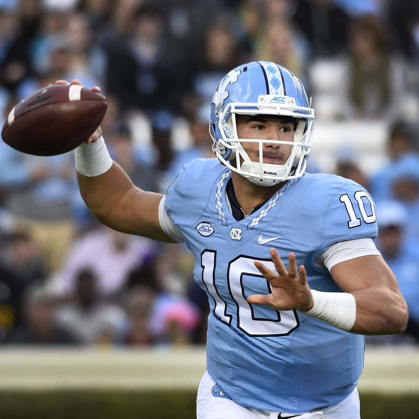 new product c9805 6587b Browns 'strongly considering' drafting UNC QB Mitch Trubisky ...