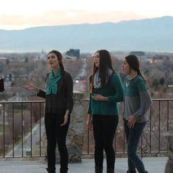 """Ari, Celi and Desi Miller sing in their music video for """"Glorioso,"""" a Spanish translation of the song """"Glorious,"""" which was made popular by the film """"Meet the Mormons."""""""