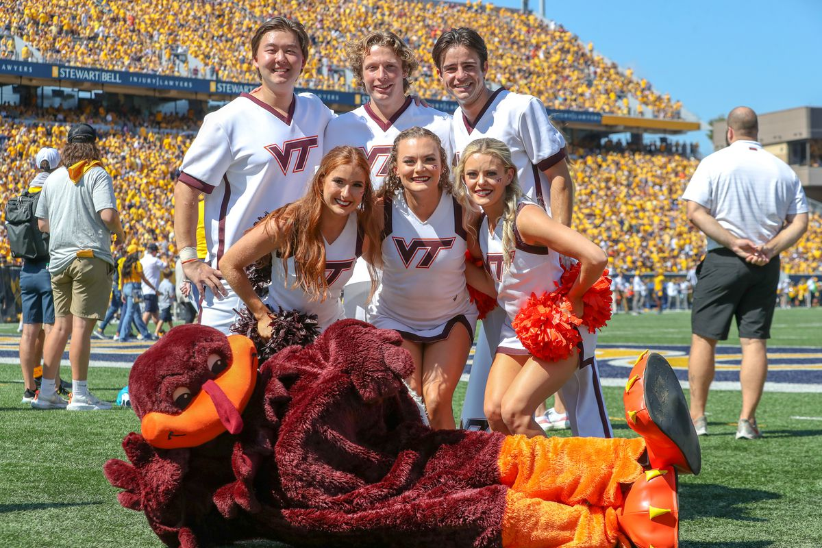COLLEGE FOOTBALL: SEP 18 Virginia Tech at West Virginia
