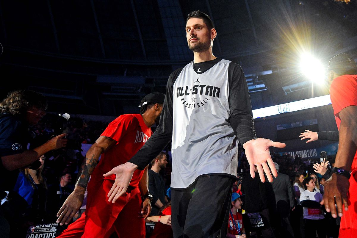 los angeles 64098 43675 GameThread: NBA All-Star Game, Nikola Vucevic makes his All ...