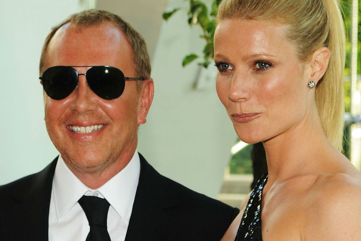 Michael Kors and Gwyneth Paltrow at the CFDA Awards in 2010. Photo via Getty.
