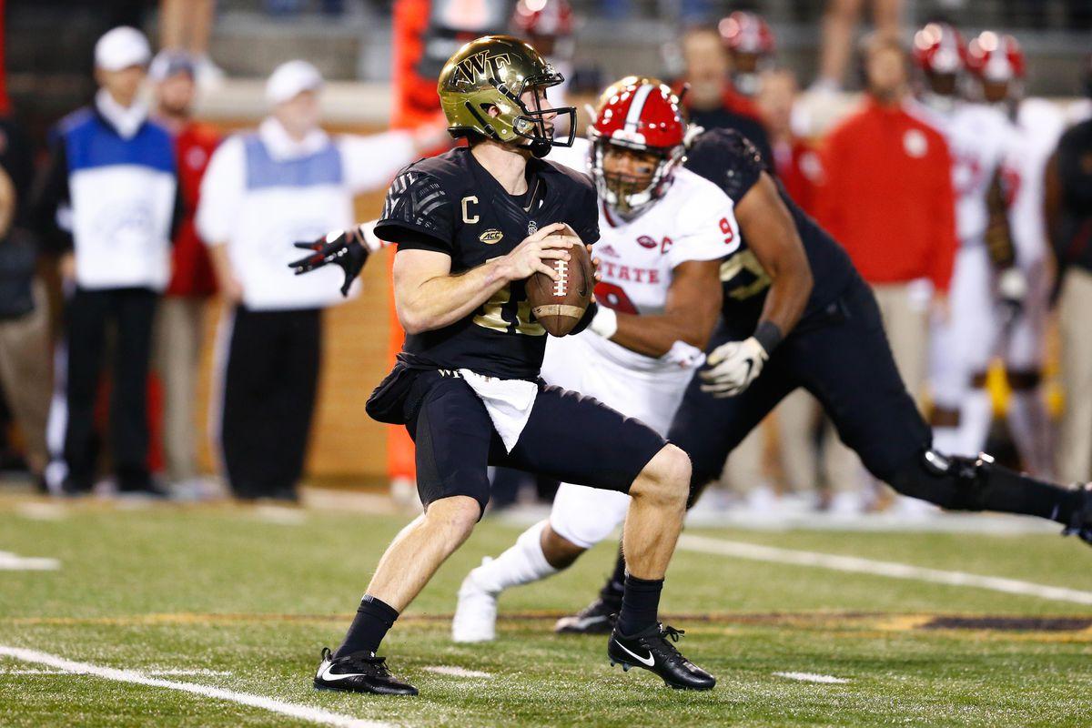 NCAA Football: North Carolina State at Wake Forest