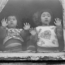 Watching the Chinese New Year Parade go by in the 1980's.   Sun-Times Archives