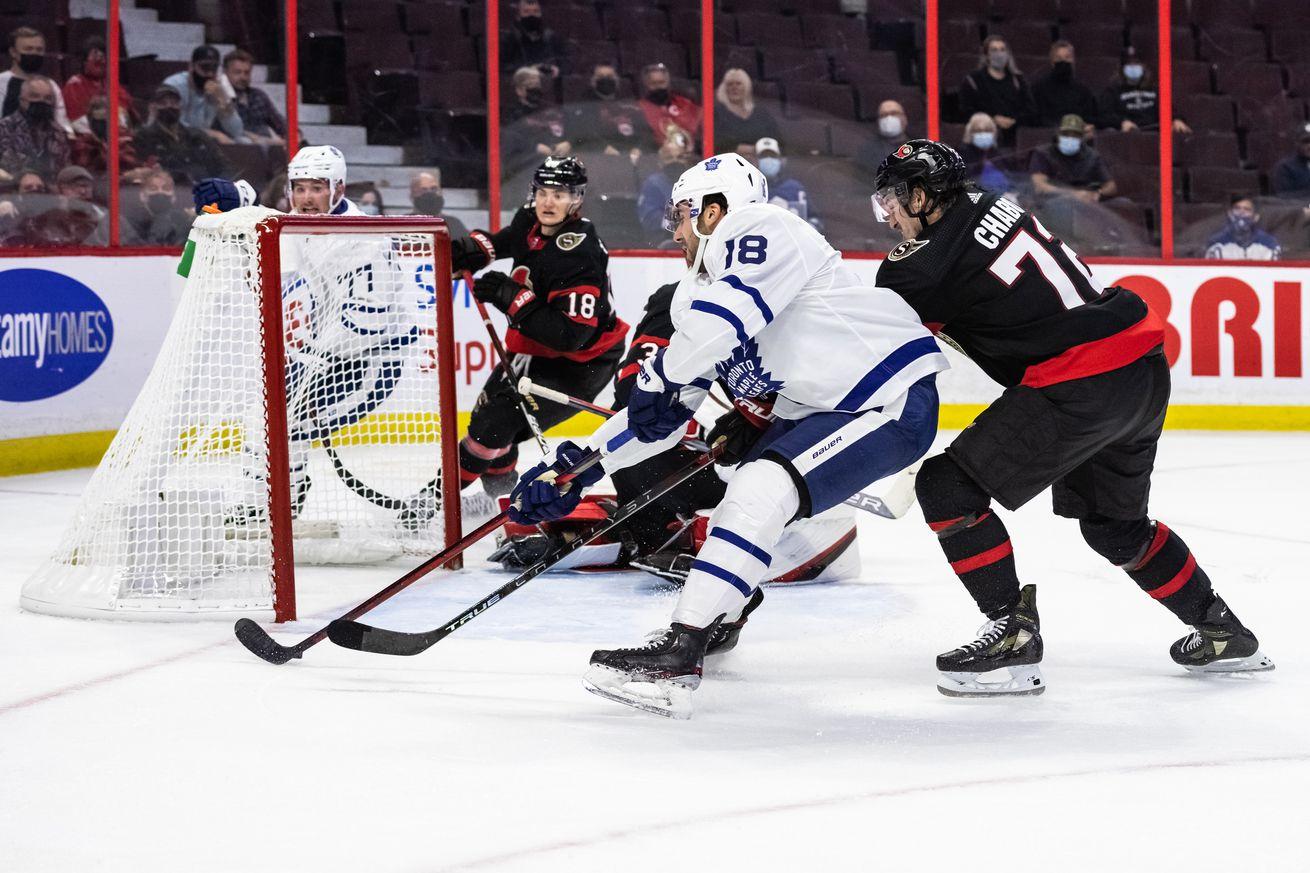 NHL: OCT 04 Preseason - Maple Leafs at Senators