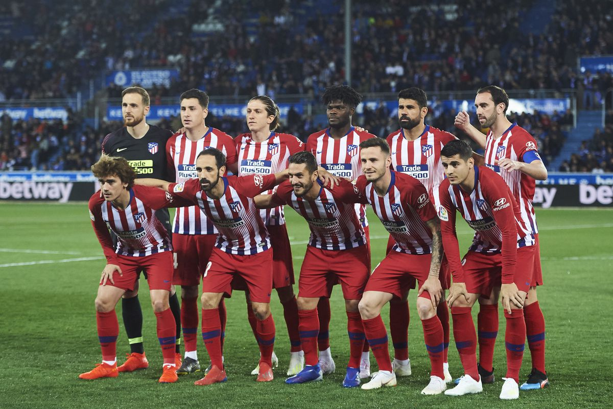 Deportivo Alaves v Club Atletico de Madrid - La Liga